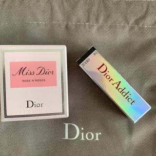 ディオール(Dior)のディオール 香水、マキシマイザー 巾着 3点セット(リップグロス)