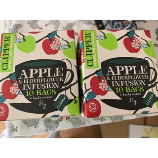 Starbucks Coffee - クリッパー オーガニック ハーブティー アップル&エルダーフラワー