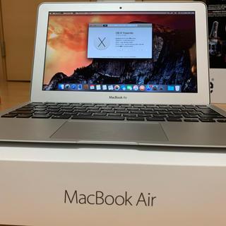 マック(Mac (Apple))の充電回数68!MacBook Air Early 2014(ノートPC)