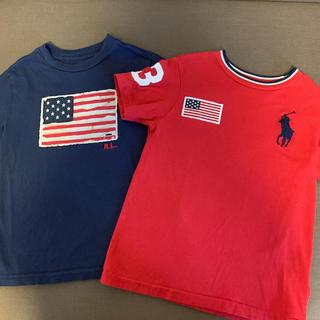 POLO RALPH LAUREN - ラルフローレン Tシャツ 2枚セット ポニー 刺繍 110 4T 国内百貨店購入