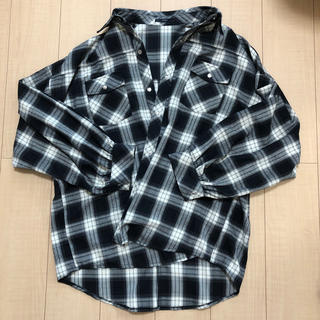 EMODA - EMODA チェックシャツ ビックサイズ