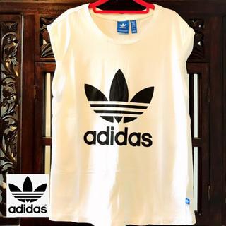 adidas - アディダス オリジナルス ロゴ Tシャツ ジャージ タンクトップ SML