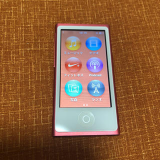 Apple - iPod nano 7世代 16GB ピンク