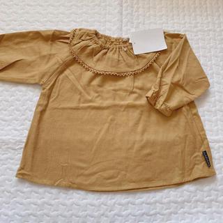 ウタカタデコ 丸襟 トップス 80cm