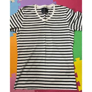 ダブルジェーケー(wjk)の今月末まで値下げ ボーダー tシャツ メンズ(Tシャツ/カットソー(半袖/袖なし))