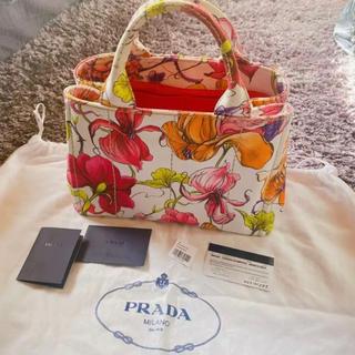 PRADA - 最終値下げ⭐︎PRADA カナパミニ 限定花柄フラワー ルイヴィトン ピーカブー