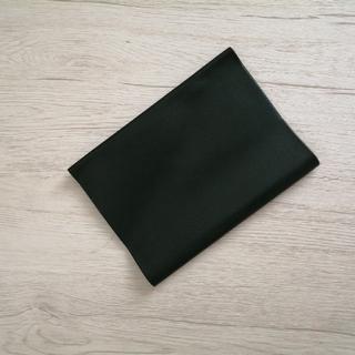 B5ブックカバー グリーン 革 188×128(ブックカバー)