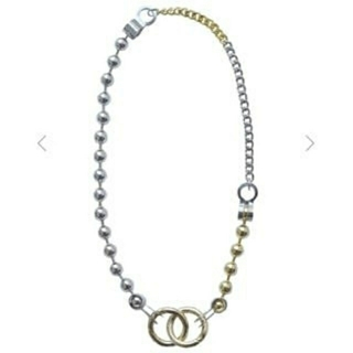 Bijou R.I Huge Ball Chain Necklace アメリ