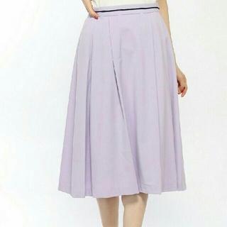 アルファキュービック(ALPHA CUBIC)のプチオンフルール フレア スカート(ひざ丈スカート)