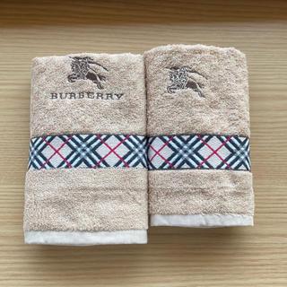 BURBERRY - Burberryバーバリーフェイスタオル&ウォッシュタオル