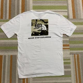 THE NORTH FACE - ザノースフェイス ティーシャツ カモロゴティー ボックスロゴ ノースフェイス