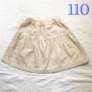 familiar - familiar  ギャザーミニスカート 110