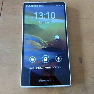 アクオス(AQUOS)のSH-04F ホワイト(スマートフォン本体)