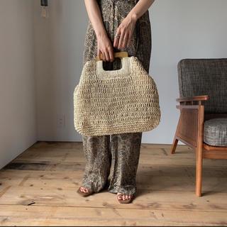 トゥデイフル(TODAYFUL)のNOKCHA straw 2way bag /2colors_na0171(ハンドバッグ)
