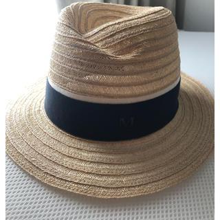 メゾンミッシェル(Maison Michel)のメゾンミッシェル ハット maison michel 帽子(麦わら帽子/ストローハット)
