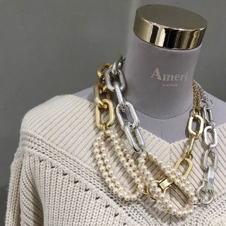 UNDRESSED CHAIN MIX NECKLACE