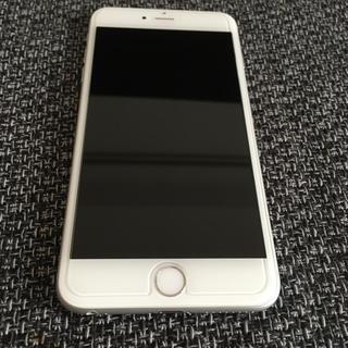 アップル(Apple)のiPhone 6 Plus Silver 16 GB au(スマートフォン本体)