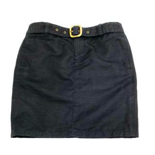 ラルフローレン(Ralph Lauren)のRALPH LAUREN Blue label ベルト付き ミニスカート(ミニスカート)