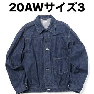 COMOLI - comoli 20aw デニムジャケット サイズ3 新品