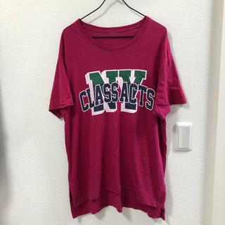 マウジー(moussy)のmoussy SHEL'TTER Tシャツ ピンク(Tシャツ(半袖/袖なし))