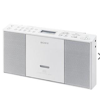 SONY - 新品 ソニー CDラジオ ZS-E30 : FM/AM/ワイドFM対応 ホ