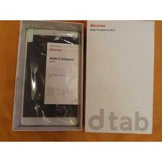 エヌティティドコモ(NTTdocomo)のタブレット■HUAWEI■docomo■dtab Compact d-01J(タブレット)