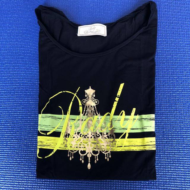 Rady(レディー)のrady かすれTシャツ レディースのトップス(Tシャツ(半袖/袖なし))の商品写真