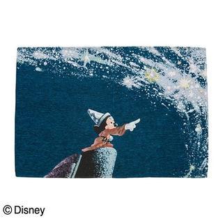 ディズニー(Disney)の019 新品 ミッキーマウス ゴブラン織り ラグ マット 「ファンタジア」(ラグ)