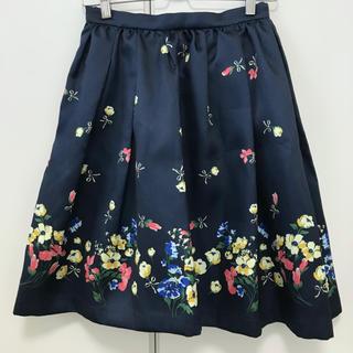 31 Sons de mode - 美品 トランテアンソンドゥモード 花柄タックフレアスカート