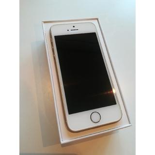 アイフォーン(iPhone)のiPhone  SE32G(第1世代) Gold simロック解除済(スマートフォン本体)
