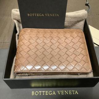 Bottega Veneta - ボッデガ・べネタ 二つ折財布  l D ケース ブラウン系