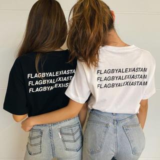 アリシアスタン(ALEXIA STAM)のThree Logo Tee×FLAG BY ALEXIA STAM(Tシャツ(半袖/袖なし))
