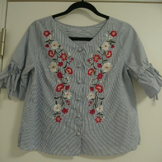 リランドチュール(Rirandture)のリランドチュール 刺繍ブラウス(シャツ/ブラウス(半袖/袖なし))