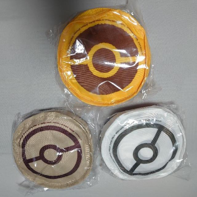 ポケモン(ポケモン)のポケモンエコバッグ 新品未使用 全3種セット セブンイレブン エンタメ/ホビーのおもちゃ/ぬいぐるみ(キャラクターグッズ)の商品写真