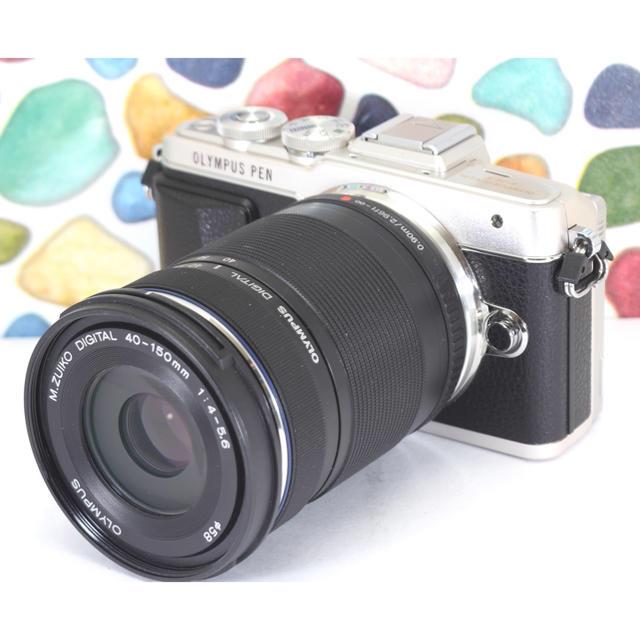 OLYMPUS(オリンパス)の☘OLYMPUS E-PL7 ★お散歩カメラ ★Wi-Fi機能内蔵 スマホ/家電/カメラのカメラ(ミラーレス一眼)の商品写真