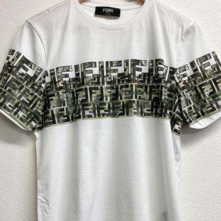 フェンディ(FENDI)の(新品) フェンディ カモフラージュTシャツ(Tシャツ/カットソー(半袖/袖なし))