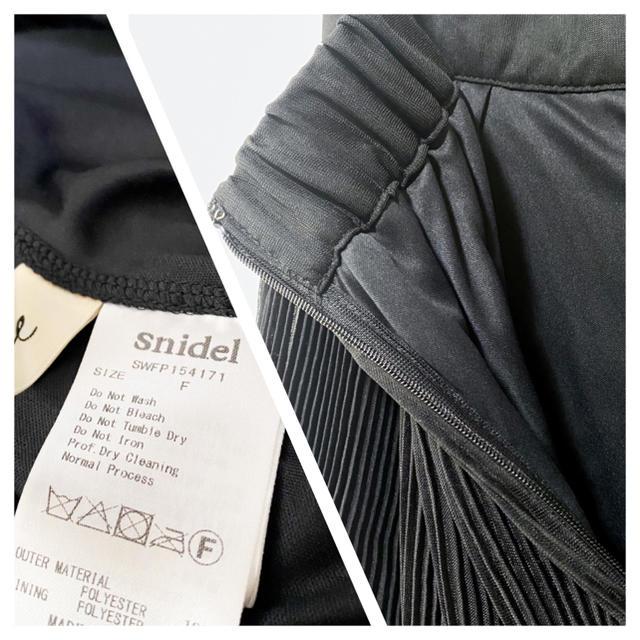 snidel(スナイデル)のsnidel ★ スナイデル ★ プリーツ ショートパンツ シフォン ブラック レディースのパンツ(ショートパンツ)の商品写真