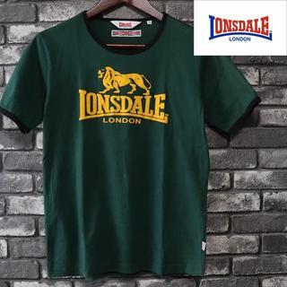 ロンズデール(LONSDALE)のロンズデール LONSDALE ロゴTシャツ 半袖 グリーン(Tシャツ/カットソー(半袖/袖なし))