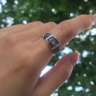 トゥデイフル(TODAYFUL)のベルトデザインリング(リング(指輪))