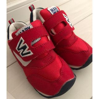 西松屋 - MARK&SAM  16cm 子供靴 男の子 赤
