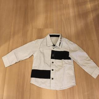 コムサイズム(COMME CA ISM)のコムサフォセット  シャツ 80 男の子 子ども服 長袖(シャツ/カットソー)