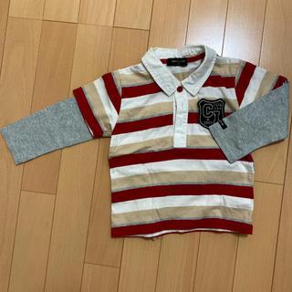 コムサイズム(COMME CA ISM)のコムサ ポロシャツandカットソー サイズ90(Tシャツ/カットソー)