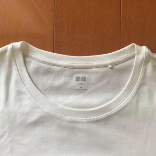 UNIQLO - UNIQLO ユニクロ Tシャツ ホワイト ネイビー 2枚セット M