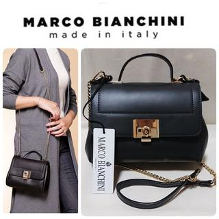 TOMORROWLAND - MARCO BIANCHINI イタリア製 2way レザー ショルダーバッグ