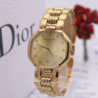 Christian Dior - 正規品【新品電池】ChristianDior/45.154 オクタゴン 12P