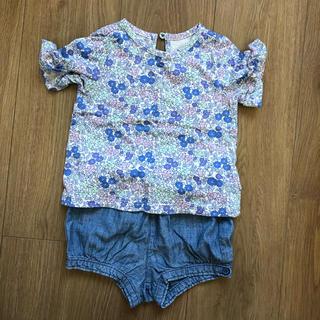 ベビーギャップ(babyGAP)のGAP トップス パンツ セット(Tシャツ)