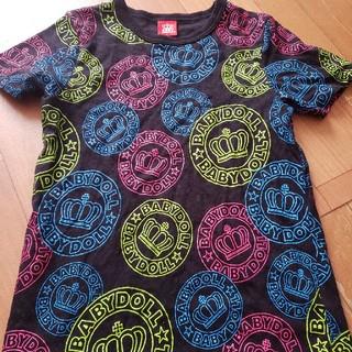 BABYDOLL - BABYDOLL 150cm 総柄Tシャツ