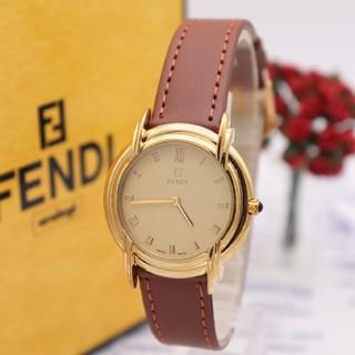 フェンディ(FENDI)の正規品【新品電池】FENDI 300J/ボーイズ ズッカ 動作品(腕時計(アナログ))