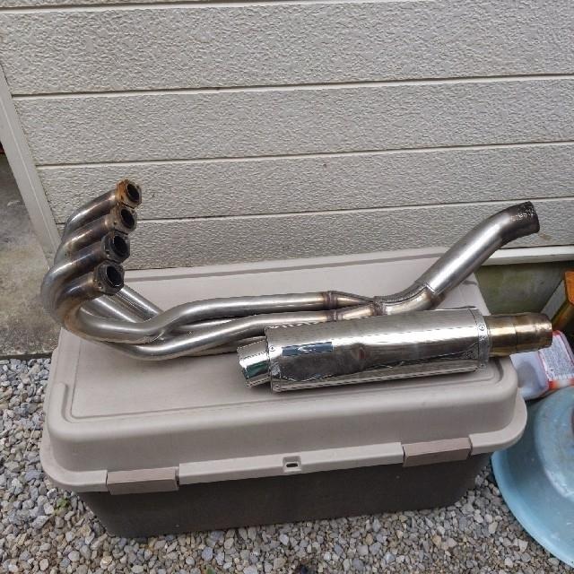 カワサキ(カワサキ)のバリオス2マフラー送料込み 自動車/バイクのバイク(パーツ)の商品写真