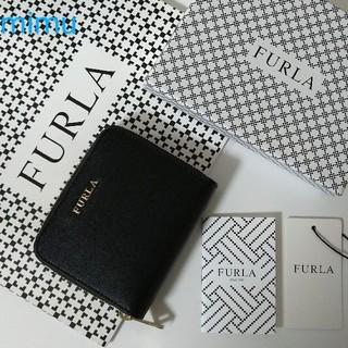 フルラ(Furla)の【新品】 FURLA BABYLON  二つ折り財布 ブラック  ONYS(財布)